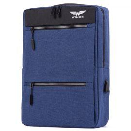 "Rucsac Laptop 15"" Wings BP30 Albastru"